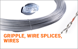 Gripples, Gripples tools, Wire splices, Wires