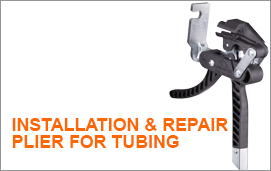 Installation repair plier for Tubing
