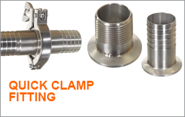 Quick Clamp Clamp - Stainless Steel